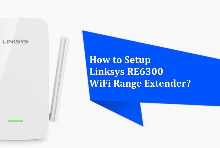 Linksys RE6300 setup